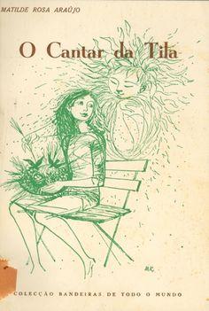 Maria Keil: Capa de O cantar da Tila, de Matilde Rosa Araújo (1967)