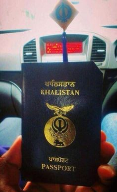 Twitter: #PASSPORT of #KHALISTAN - #FreeKhalistan - #FreeSikhPoliticalPrisioners