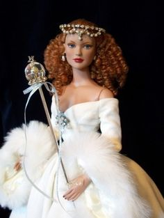 "Winter in Oz - Basic Glinda wears ""Winter in Oz,"" an outfit from the original 2005 Wizard of Oz Collection."