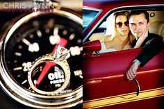 Jessica+Richard=Classic | Vintage Car Engagement Session - The Wedding Chicks