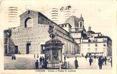 Piazza San Lorenzo without the Street Market!