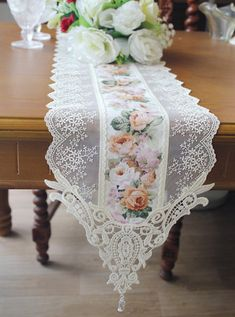 Good for craft projects and home decoration Various patterns is composed of a sheet. Size of each fabric : Fabric : Cotton, rayon Limited Stock! It takes business days. *Discount * Reorder :off Order Quantity ~ Draps Design, American Girl Storage, Rideaux Design, Luxury Bed Sheets, Lace Table Runners, Linens And Lace, Diy Home Crafts, Table Covers, Table Linens