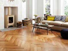 Herringbone Oak | Topps Tiles