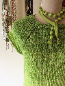 maglia ai ferri in cotone