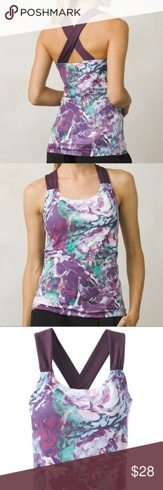 NWT Prana Athletic/Yoga Top These are one of my favorite workout tops! The material is very soft and comfortable and hugs well to your body.  You can skip your Sports Bra with this top since it comes with added support. Prana Tops Tank Tops