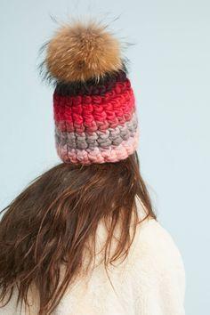 b3adf00b48712 Rosy Striped Beanie. Winter HatsWinter ...