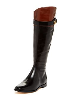 Cole Haan boots #black #brown