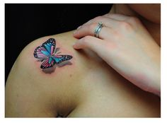 Small-Butterfly-Tattoo-On-Shoulder-7.png (642×475)