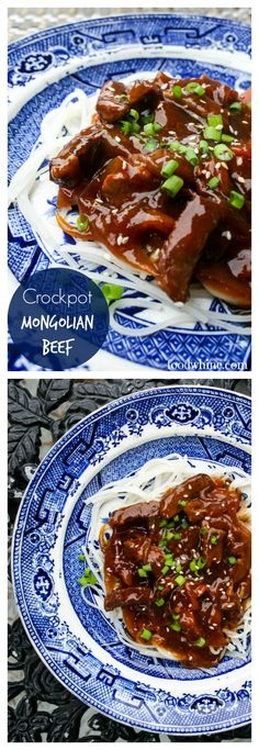 Crockpot Mongolian Beef recipe with a rich Asian sauce is much more tasty and healthy than Chinese take-out. Make it in your slow cooker and dinner will be ready in less time than it takes to order from a restaurant.