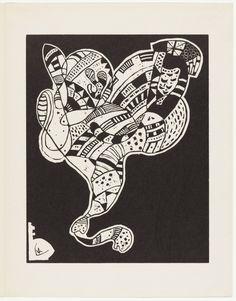 Wassily Kandinsky, Gravure pour 10 Origine - Original Woodcut Print by Wassily Kandinsky, 1942 Wassily Kandinsky, Hans Arp, Davidson Galleries, Arches Paper, Fine Art Auctions, Art Archive, Gravure, Impressionist, Original Artwork
