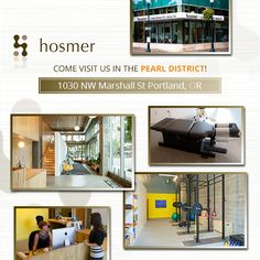 Come visit our chiropractic practice in the Pearl District!  We're located at 1030 NW Marshall St in Portland.  HosmerChiropractic.com