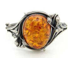 Bracelet dambre Pierre ambre de la Baltique par VintageArtAndCraft