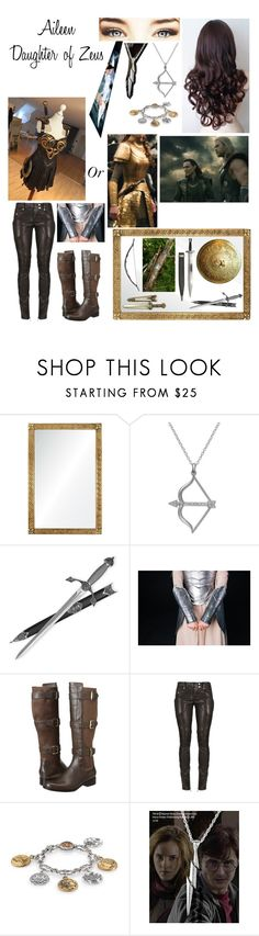 """Thor OC"" by nebulaprime ❤ liked on Polyvore featuring beauty, Barclay Butera, GET LOST, Bow & Arrow, Studio Silver, S.W.O.R.D., Cole Haan, Balmain and Konstantino"