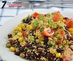 Sábado+-+Ensalada+de+habichuelas+con+quinoa+-+7+días+de+Sabor+con+ECONO