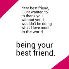 Thank you Alicia for always being there for me. ❤ You brighten up my mood every day, and you're the main reason why I go on Pinterest. ;)