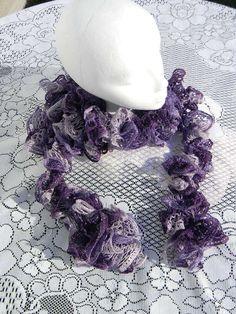 Womens scarf   crocheted scarve   sashay scarf  by JANSONESTOPSHOP, $18.00