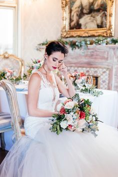 A sumptuous bridal styled shoot with some of our jewelry to accentuate a bride on her wedding day. Bridal Shoot, Beautiful Bride, Old World, Wedding Day, Flower Girl Dresses, Traditional, Elegant, Wedding Dresses, Inspiration