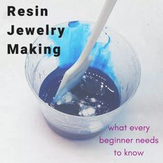 Resin jewelry making beginner tips. Steps to help you learn and ensure success w… Resin jewelry making beginner tips. Steps to help you learn and ensure success when working with casting resins for your crafts and jewelry. Resin Jewelry Making, Jewelry Making Tutorials, Jewelry Making Supplies, Jewellery Making, Beginner Jewelry Making, Jewelry Casting, Crystal Jewelry, Wire Jewelry, Jewelry Crafts