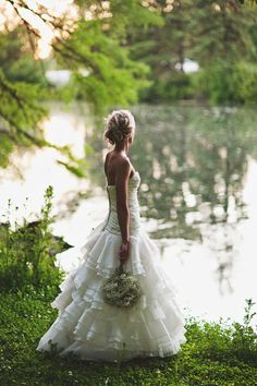 gorgeous wedding, beautiful and simple