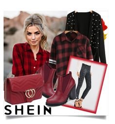"""SHEIN II/10"" by betty-boop23 ❤ liked on Polyvore featuring Sheinside and shein"