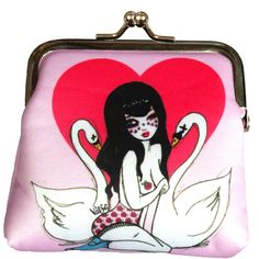 Bettie Coin Purse  by Valfré  http://valfre.com/products/cheeseburger-gal-coin-purse