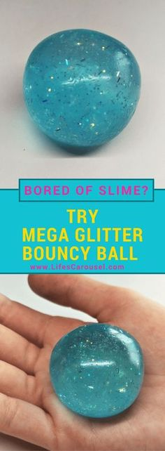 DIY Bouncy Ball   EASY Kids Craft - Make your own Bouncy Balls using the same ingredients as slime! Bored of slime? Try this instead! Super Bouncy Fun!