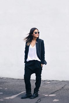 Black and white style // The Fashion Medley