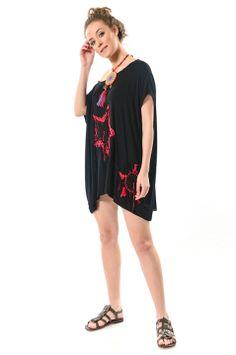 6977c3acf5182 2018 için en iyi 21 Yazlık Tunik Modelleri görüntüsü | Dress fashion ...