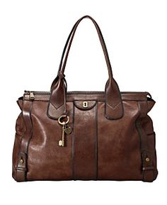 Fossil leather handbag. I really wish this wasn't so expensive