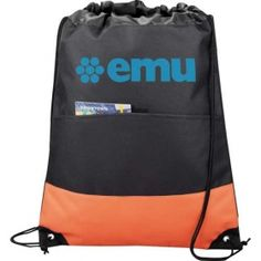Promotional Products Ideas That Work: The Legends Drawstring Cinch Backpack. Get yours at www.luscangroup.com