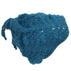 Silverstinger Apparel - Woolly Hats Collection - This beanie's name is Azurra. It is one of a Kind!