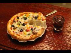 """쪼만한마을-미니어쳐 피자만들기 Miniature""""pizza"""" - YouTube"""
