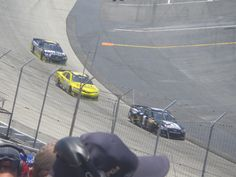 McMurray Kenseth and Stewart racing