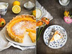 Backrezept für Zitronen Buttermilch Tarte Sommerkuchen Tarterezept Buttermilchkuchen Zitronenkuchen Zuckerzimtundliebe