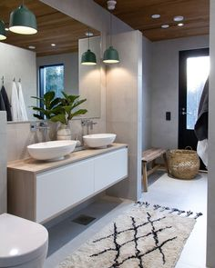 Laundry Room Bathroom, Bathroom Plans, Bad Inspiration, Bathroom Inspiration, Inside A House, Sauna Design, Country House Interior, Toilet Design, Bathroom Design Luxury