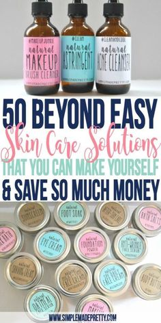 I love her blog! I needed essential oils for beginners ideas and didn't want to spend more money on oils and these 50 skin care solutions were really easy to make! The printable labels for all 50 products is included and they have cute hashtags related to beauty and skin care. Love it!