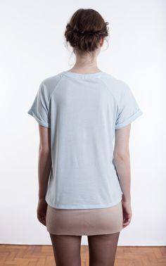 Camiseta Grace {Azul) - Carolina Ancasy