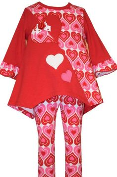 Bonnie Jean Girls Short Sleeve Fox Appliqued Outfit Leggings 2T 3T 4T New