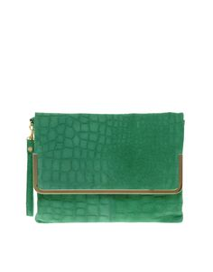 love the fold over clutch