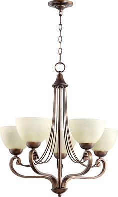 Lariat 5-Light Shaded Chandelier #lighting #lights
