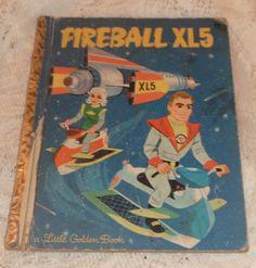 Fireball XL5 - Little Golden Book A Edtion