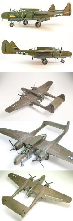 1/48 Northrop P-61A blackwidow • http://www.network54.com/Forum/47751/message/1392146072/1-48+Northrop+P-61A+blackwidow