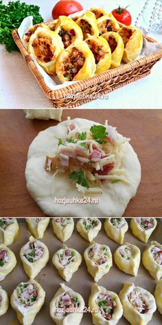 Pull Apart Bread, Mini Pies, Dessert Recipes, Desserts, Confectionery, Easy Meals, Easy Recipes, Good Food, Appetizers