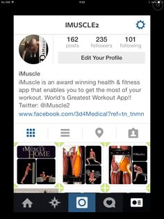 Pop over and check us out on Instagram for great motivational / fitness posts.