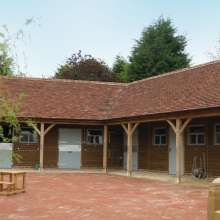 Premium timber and tile stables