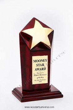 #Executive #GoldStar #Award  WAUKNO15000 http://woodartsuniverse.com/catalog/product_info.php?cPath=35&products_id=296