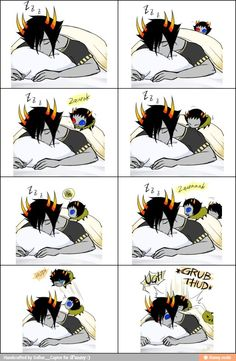 I guess people with kids know this feel. I however do not but who could be angry at lil Mituna grub-thumping them awake