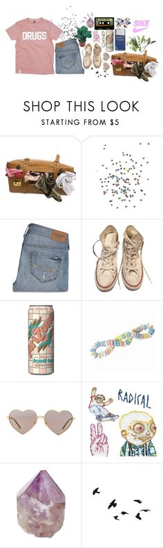 """;; you're like a drug to me //"" by cottoncandyprince ❤ liked on Polyvore featuring Abercrombie & Fitch, Converse, Michele, Wildfox, Mapleton Drive, Old Navy, Pink, grunge, drugs and FitzandTheTantrums"