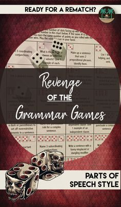 Like its original counterpart, the Grammar Games Dice Review, this game allows students to have fun while reviewing and learning grammar, focusing specifically on the 8 parts of speech this time around. Help students learn the building blocks of the English language through fun and engaging repetition.