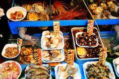 Tsukiji Market. Japan. Tokyo. 2015 Tsukiji, Chicken Wings, Tokyo, Japan, Meat, Food, Tokyo Japan, Essen, Meals